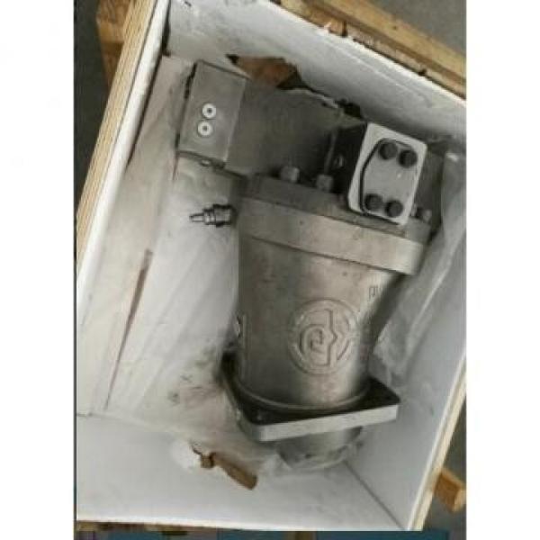 R902218640 A7VO80LRH1/63R-NZB01 Rexroth A7VO Series Axial Piston Pump #1 image