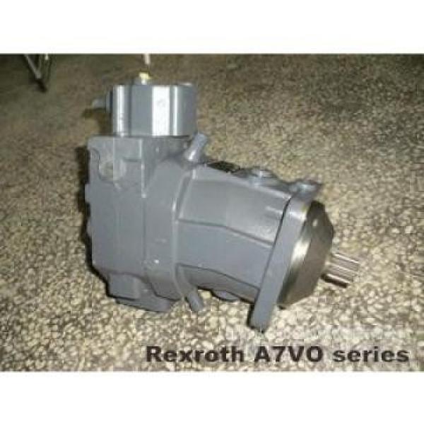 10MCY14-1B high pressure hydraulic axial piston PumpR909611255 A7VO80LRH1/61R-PZB01-S Rexroth Axial Piston Pump #2 image
