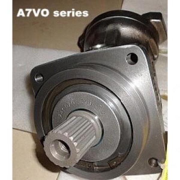 10MCY14-1B high pressure hydraulic axial piston PumpR909441351 A7VO80LRH1/61R-PZB01-S Rexroth A7VO Series Axial Piston Pump #2 image